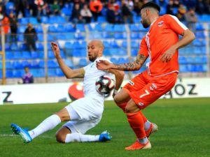 Tff 1. Lig: Adanaspor: 0 - Akhisaspor: 0 (İlk Yarı Sonucu)