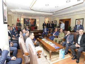 Başbakan Yardımcısı Kaynak Tunceli'de