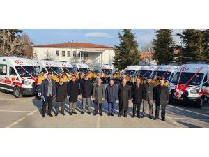 Sağlık Bakanlığı'ndan Konya'ya 9 Yeni Ambulans