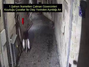 Güvercin Hırsızları Kameradan Kaçamadı