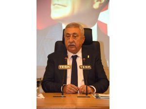 """Tesk Başkanı Palandöken: """"İşlem Ücretlerine Sınır Getirilmesi Her Kesimi Rahatlatır"""""""