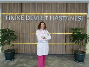 Finike'ye anestezi uzmanı