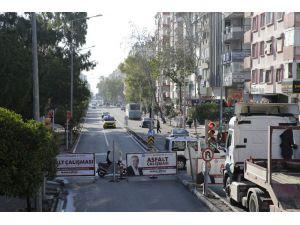 Anafartalar caddesi Asfalt yenileme çalışmaları tamamlandı
