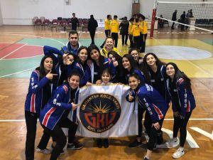 Gaziantep Kolej Vakfı Kız Voleybol Takımı Türkiye Yarı Finalinde