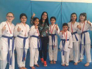 Şuhut'lu Karateciler Madalyalara Doymuyor