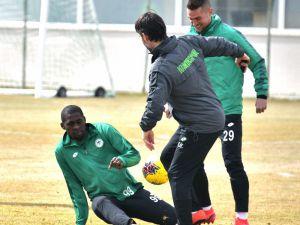 Konyaspor, Kayserispor Maçı Hazırlıklarını Sürdürüyor