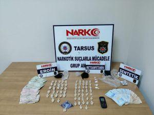 Tarsus'ta Uyuşturucu Operasyonu: 4 Gözaltı