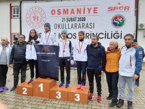 Ceyda Melek Pınar Türkiye İkincisi Oldu