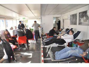 Afyonkarahisarlı Vatandaşlar Kan Bağışına İlgisiz Kalmadı