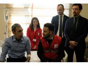 Bombalı Saldırıda Çenesini Kaybeden Adama Türk Hekimleri Umut Oldu
