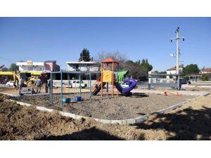 Duacı'ya yeni park yatırımları