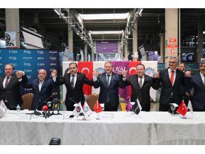Tmsf'nin Yönettiği Royal Halı'da Toplu İş Sözleşmesi İmzalandı