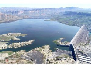 Ilısu Barajı'nda Su Seviyesi 93 Metreye Ulaştı