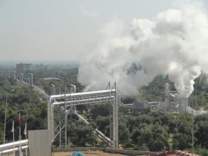 Kipaş Holding Türkiye'nin Jeotermal Enerji Üreten Firmaları Arasına Girdi