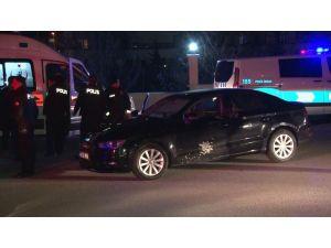 Başkent'te Seyir Halindeki Araca Pompalı Tüfekle Saldırı: 1 Yaralı