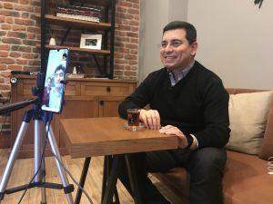Başkan Tütüncü'den hemşehrilerinin evlerine sanal ziyaret