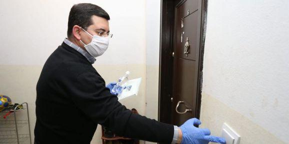 Kepez'de maskeler kapıya geliyor