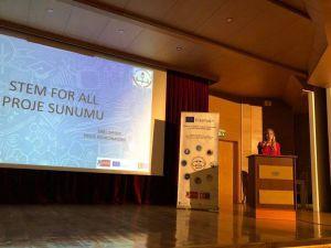 'Herkes için STEM' projesinin tanıtım toplantısı gerçekleştirildi
