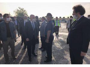 Ulaştırma Bakanı Karaismailoğlu Hızlı Tren Hattı Çalışmalarını İnceledi