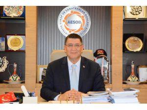AESOB Başkanı Dere'den 'Bayramda alışverişi esnaftan yapın'  çağrısı