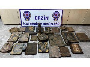 Erzin'de Tarihi Eser Kaçakçılığı
