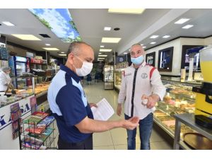 Ato Başkanı Baran'dan Yeni Normalleşme Sürecindeki Lokanta, Kafe Ve Restoranlara Siftah Ziyareti
