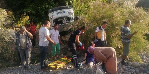 Araçların kafa kafaya çarpıştığı kazada can pazarı
