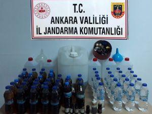Jandarma Sahte İçki Satıcılarına Göz Açtırmıyor