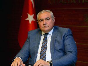 """ATSO Başkanı Çetin: """"Antalya enflasyona olumlu katkı yaptı"""""""