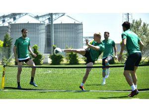 Konyaspor, Gençlerbirliği Hazırlıklarını Sürdürdü