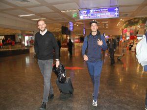 Trabzonspor'un yeni transferi Novak İstanbul'da