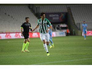 Süper Lig: Konyaspor: 0 - Çaykur Rizespor: 0 (İlk Yarı)