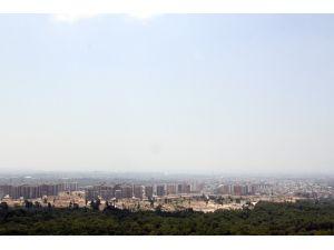 Antalya'ye nem çöktü, ufuk görünmez oldu