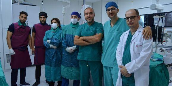 ALKÜ'de ilk periferik arter ameliyatı