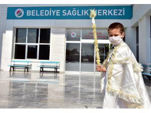 Kepez'de 224 çocuğun sünnet heyecanı başladı