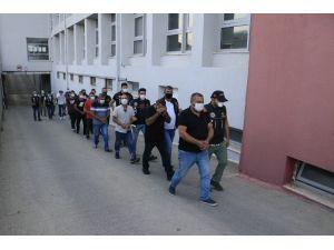 Şifreli Torbacılara 14 Tutuklama