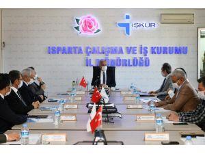 Isparta'da Kısa Çalışma Ödeneğinden 14 Bin 777 Kişi Yararlandı