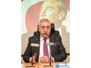 Tesk Genel Başkanı Palandöken'den Yeniden Yapılandırılan Kredilere İlişkin Açıklama