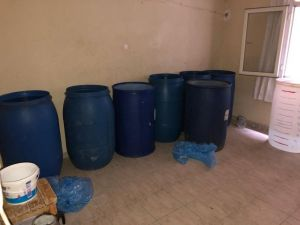 Adana'da Bin 590 Litre Kaçak İçki Ele Geçirildi