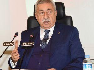 """Tesk Başkanı Palandöken: """"Temennimiz Bu Haksız Verginin Tamamen Kaldırılması"""""""