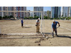 Mezitli Belediyesi, Boş Arsayı Spor Sahasına Çevirdi