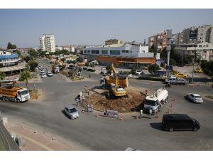 Muratpaşa'da kavşak düzenlemeleri