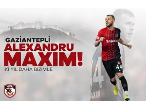 Alexandru Maxim 2 Yıl Daha Gaziantep'te