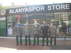 Alanyaspor Kamuflaj Forma Gelirinin Yüzde 20'sini Mehmetçik Vakfı'na Bağışlayacak