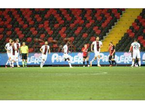 Süper Lig: Gaziantep Fk: 0 - Fatih Karagümrük: 1 (İlk Yarı)