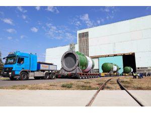 Atommash, Akkuyu Ngs'nin İlk Ünitesi İçin Üretilen Reaktör Basınç Kabını Türkiye'ye Gönderdi