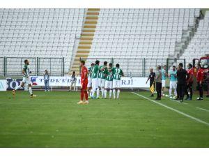Süper Lig: Konyaspor: 1 - Beşiktaş: 0 (İlk Yarı)