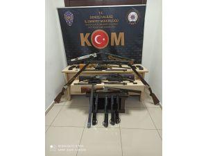 Silah Kaçakçılarını Kom Durdurdu