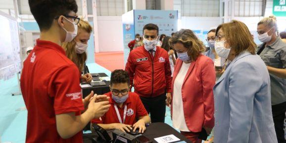 Teknofest Yarışmacıları Gaziantep'ten Memnun Kaldı