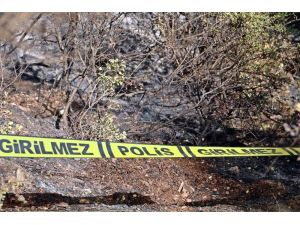 Ormanlık alanda bulunan yanmış haldeki cesedin kimliği belli oldu